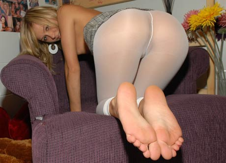 Maddy rose black stockings