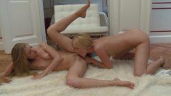 Lina Napoli & Cayenne Klein's steamy lesbian clip
